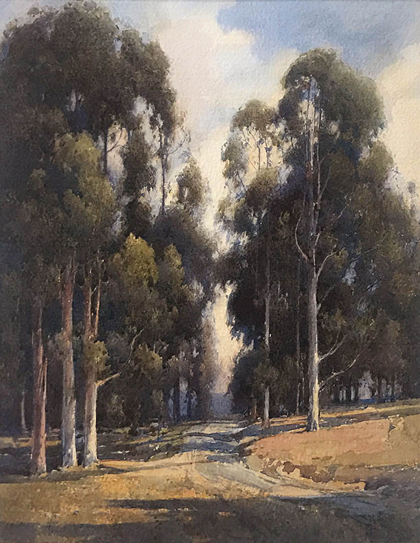 Percy Gray - Landscape with Eucalypti